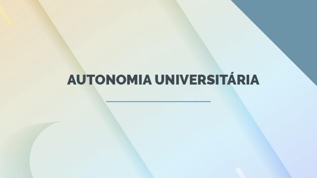 Autonomia universitária