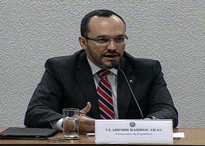 Senado rejeita a indicação do procurador Vladimir Barros Aras para o CNMP
