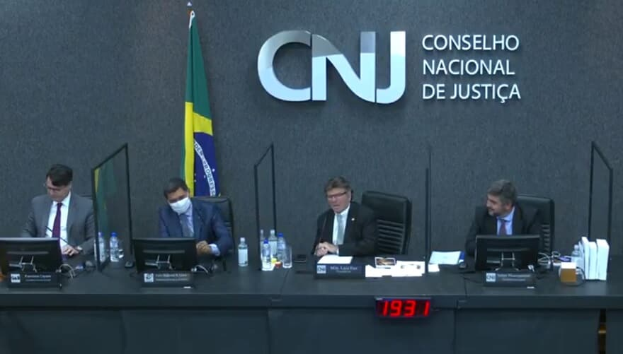 (Imagem: Reprodução / TV CNJ)