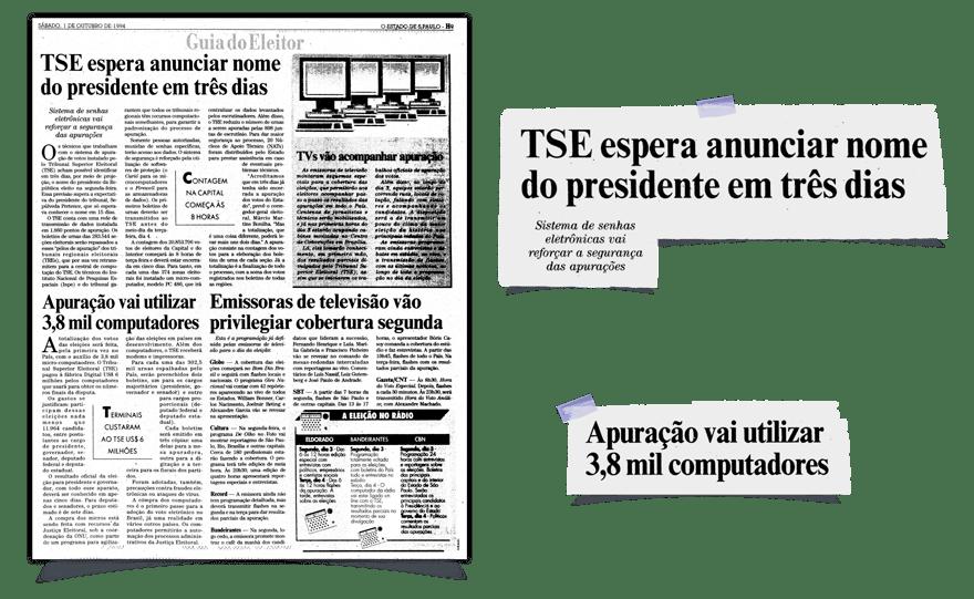 (Imagem: Jornal O Estado de S. Paulo, 1994, Biblioteca Nacional)