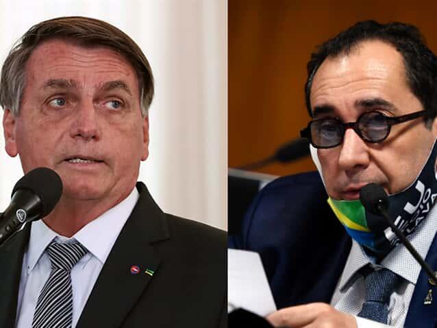 (Imagem: Montagem Migalhas: Imagens: Edilson Rodrigues/Agência Senado e Marcos Corrêa/PR)