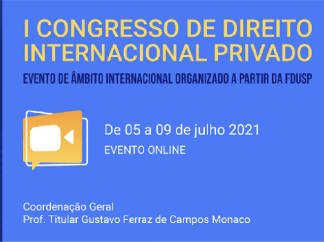 Abertas inscrições para o I Congresso de Direito Internacional Privado