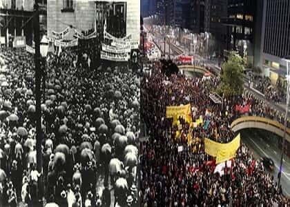 O aniversário da Revolução Constitucionalista e as atuais manifestações