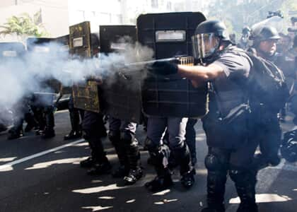 Cassada liminar que proibia PM de usar bala de borracha em manifestação
