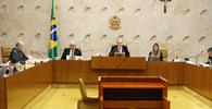 Ministros Gilmar Mendes e Lewandowski discutem em plenário