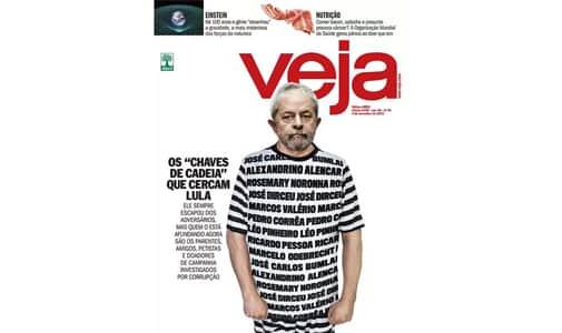 Lula não será indenizado por montagem da Veja vestido de presidiário