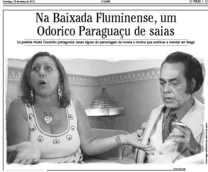 O Globo não terá que indenizar política por comparação com prefeito corrupto de novela