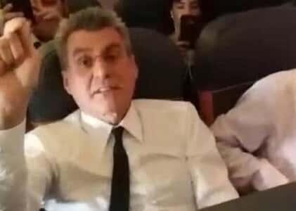 Rejeitada queixa-crime do senador Romero Jucá contra mulher que o filmou em avião