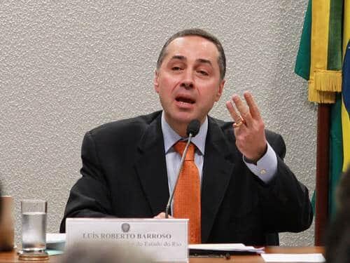 Senado aprova Luís Roberto Barroso para o STF