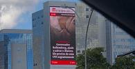 Remoção de painel digital de site de Brasília gera discussão sobre eventual censura