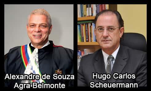 Hugo Scheuermann e Alexandre Agra Belmonte são os novos ministros do TST