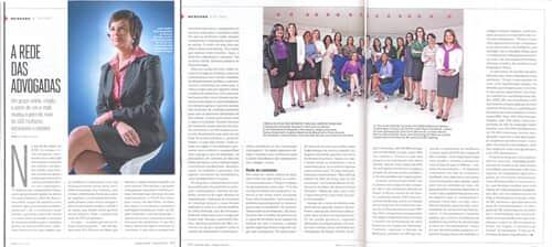 Jurídico de Saias está na edição deste mês da revista Você S/A