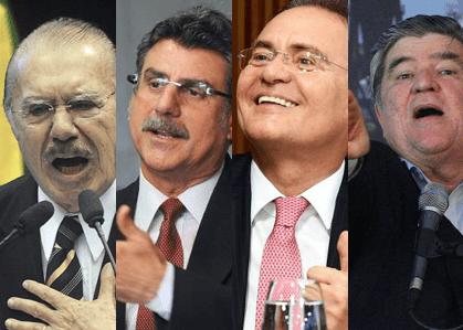 PGR pede abertura de inquérito contra Sarney, Jucá, Renan e Sérgio Machado por atrapalharem a Lava Jato