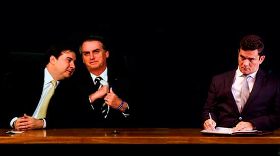 Bolsonaro, Maia e Moro