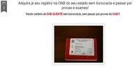 Blog anuncia venda de carteira da OAB