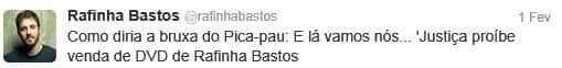 Justiça proíbe DVD de Rafinha Bastos por piada com deficientes