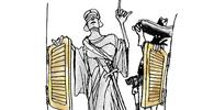 Jornal critica atuação de advogados e OAB/RJ faz charge em resposta