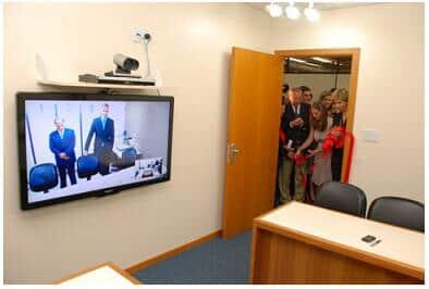 Inaugurada sala de audiência por videoconferência no Foro de Porto Alegre/RS