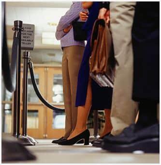 Para Justiça do DF, demora em fila de banco não gera indenização