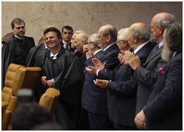 Ministro Luiz Fux toma posse como 11º membro do Supremo