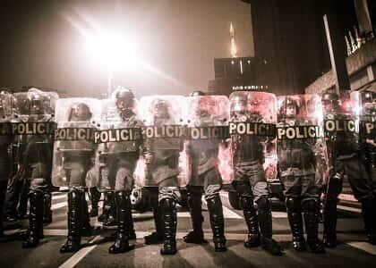 TJ/SP libera uso de bala de borracha em manifestações