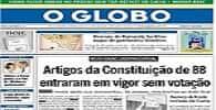 História dos artigos da Constituição que não foram votados