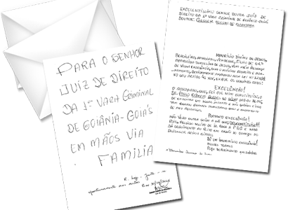 Em carta endereçada a juiz, preso pede que advogado seja desconstituído
