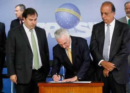 Decretada intervenção Federal no RJ