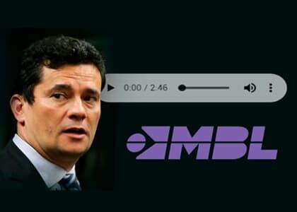 Em áudio, Moro pede desculpas por chamar integrantes do MBL de tontos