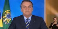 Em novo pronunciamento, Bolsonaro reitera necessidade de evitar destruição de empregos