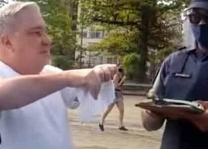 Desembargador de SP que humilhou guarda após ser flagrado sem máscara pede desculpas