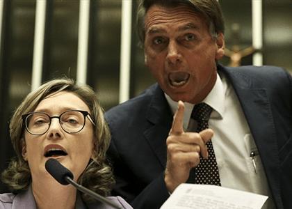 Marco Aurélio mantém decisão que mandou Bolsonaro indenizar Maria do Rosário