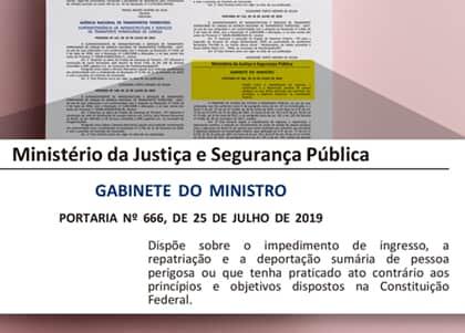 """Moro publica portaria para deportar """"pessoas perigosas para o Brasil"""""""
