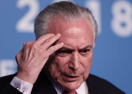 Michel Temer vira réu por irregularidades no decreto dos Portos