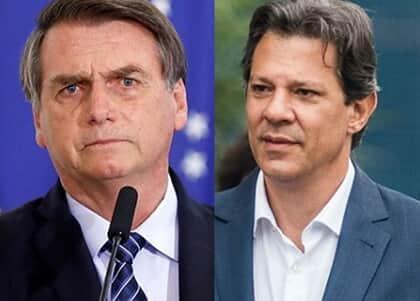 TSE arquiva ação em que Bolsonaro acusava Haddad e Folha de conluio contra sua campanha
