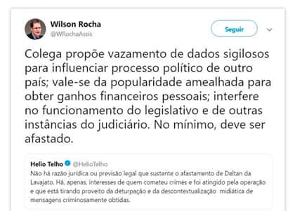 Procuradores discordam no Twitter sobre afastamento de Dallagnol