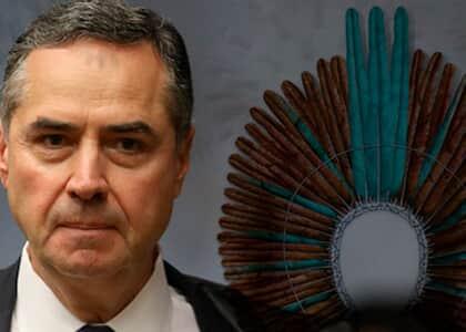 Ministro Barroso determina que Bolsonaro adote medidas para proteger indígenas da covid-19