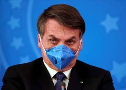 Bolsonaro recorre ao STJ contra divulgação de exame do coronavírus