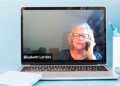 Desembargadora fala ao telefone enquanto advogada realiza sustentação oral em sessão virtual
