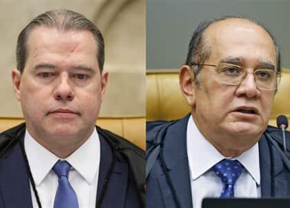 Toffoli e Gilmar divergem sobre licitude de prova obtida sem autorização judicial