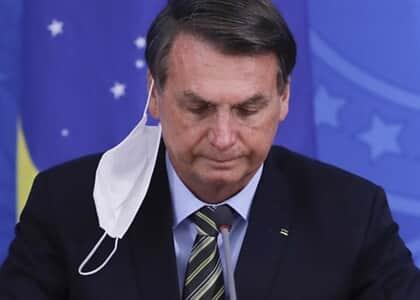 STF: Partido contesta ato de Bolsonaro e pede uso obrigatório de máscara em locais fechados