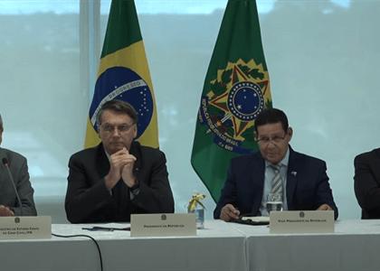 Assista à reunião de Bolsonaro com ministros que gerou saída de Moro