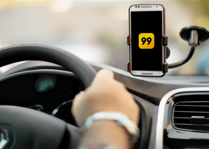 Dona do aplicativo 99 deve ressarcir motorista que teve carro roubado e destruído