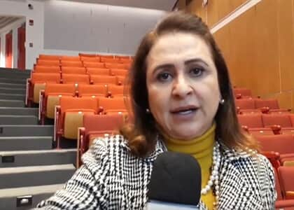 """Sou contra a TV Justiça"", diz senadora Kátia Abreu"
