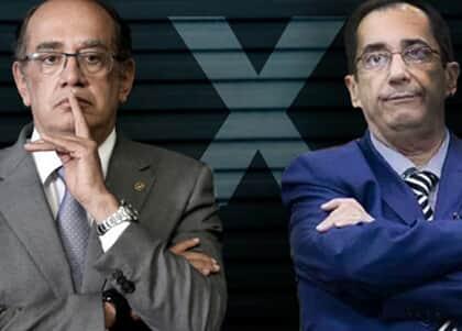 Briga entre Gilmar Mendes e Kajuru expõe crise entre Poderes