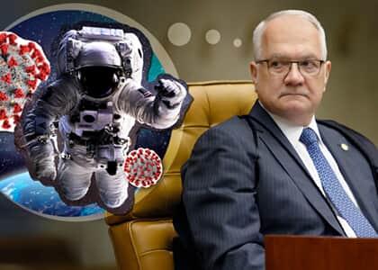 Fachin concede domiciliar negada por magistrado que considerou que só astronautas estão livres do coronavírus