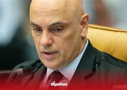 Moraes vota por permitir compartilhamento de dados entre órgãos de controle e MP