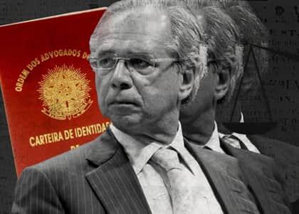 PEC: Guedes propõe extinguir inscrição obrigatória em conselhos profissionais, incluindo OAB