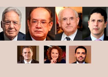 IGP realiza webinar com FHC, Gilmar Mendes e Nelson Jobim