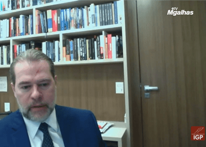 Para Toffoli advogado que pede retirada de processo do julgamento virtual quer protelar